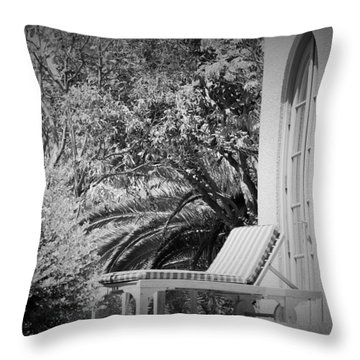 Solitude #2 Throw Pillow by George Mount