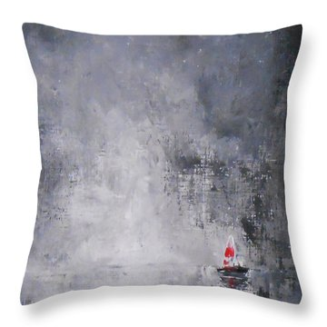 Solitude 2 Throw Pillow