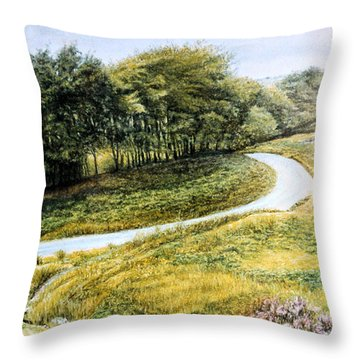 Solitude And Tranquility  Throw Pillow