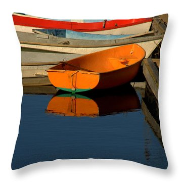 Throw Pillow featuring the photograph Solitude by Caroline Stella