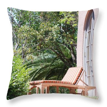 Solitude Throw Pillow by George Mount
