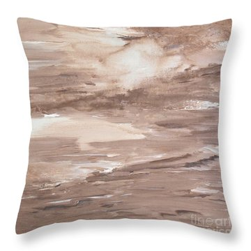 Solitude Throw Pillow by Susan  Dimitrakopoulos