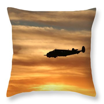 Throw Pillow featuring the photograph Solo by David S Reynolds