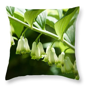 Solomon's Seal Throw Pillow