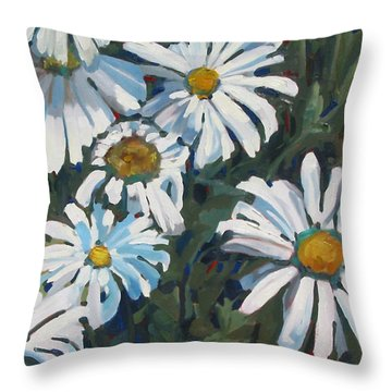 Some Are Daisies Throw Pillow