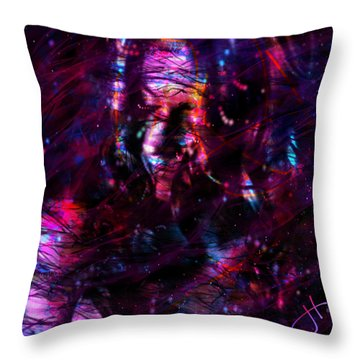 Some Devil Throw Pillow