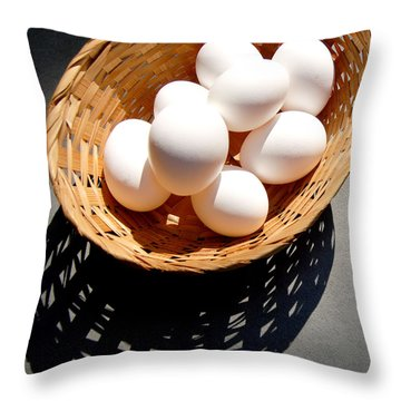 Some Of Our Eggs Throw Pillow
