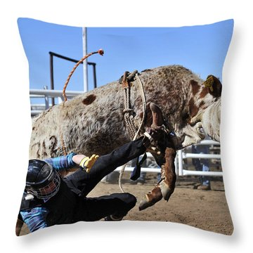 Some You Win Some You Lose Throw Pillow by Karen Slagle
