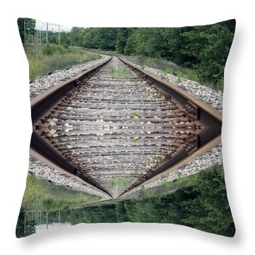 Somedays Its A Topsy Turvy Day Throw Pillow by Thomas Woolworth