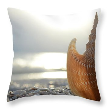 Something Beautiful Remains Throw Pillow