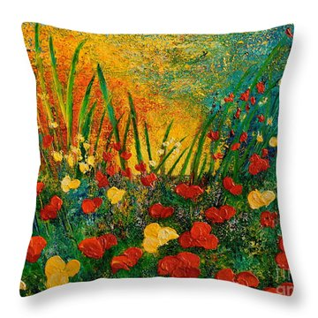 Something I Love Throw Pillow