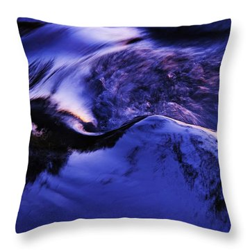 Throw Pillow featuring the photograph Something In The Way She Moves by Sean Sarsfield
