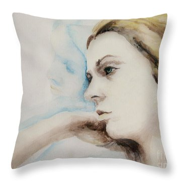 Something More Throw Pillow by Rory Sagner