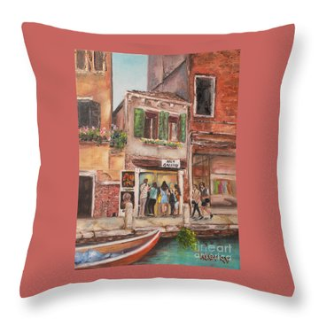 Something Of Interest Throw Pillow