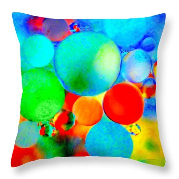 Something Out Of Nothing Throw Pillow