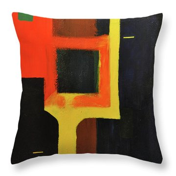 Something To Do With Light Throw Pillow by Kimberly Maxwell Grantier
