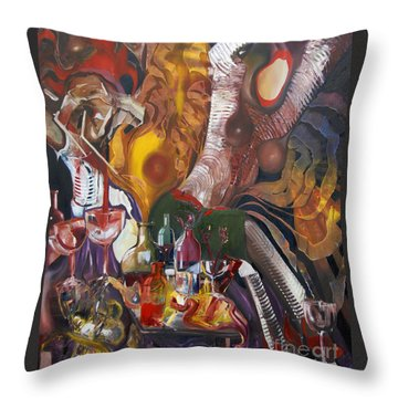 Something To Shout About Throw Pillow