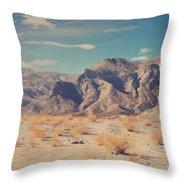 Sometimes All You Can Do Is Breathe Throw Pillow by Laurie Search