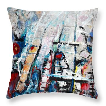 Sometimes The Wind Just Blows So Hard Throw Pillow