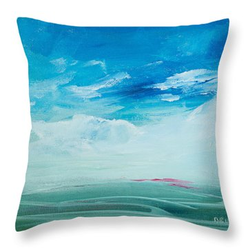 Somewhere Beyond The Sea Throw Pillow