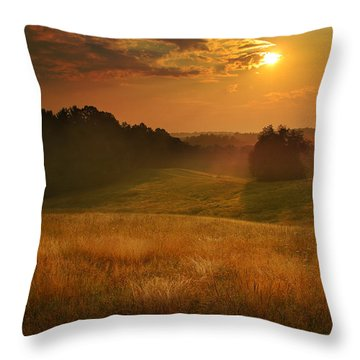 Somewhere In A Dream Throw Pillow by Rob Blair