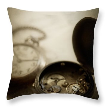 Somewhere In Time Throw Pillow by Amy Weiss