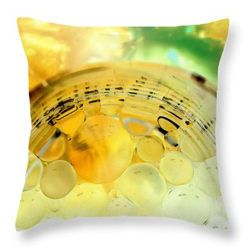 Throw Pillow featuring the photograph Somewhere Near Heaven by Christine Ricker Brandt