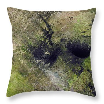 Somewhere Only We Know 5 Throw Pillow