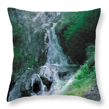 Somewhere Only We Know 6 Throw Pillow