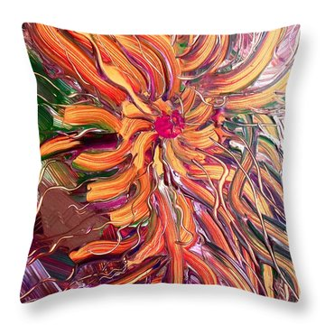 Sommer Throw Pillow