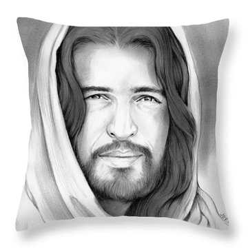 Son Of Man Throw Pillow