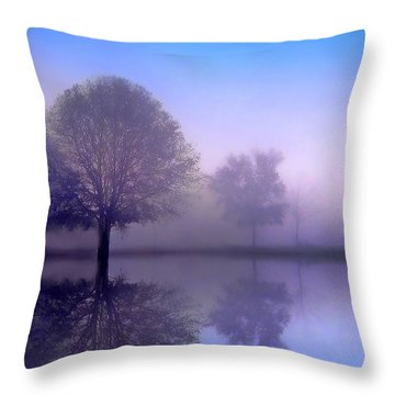 Sonata Throw Pillow by Jessica Jenney