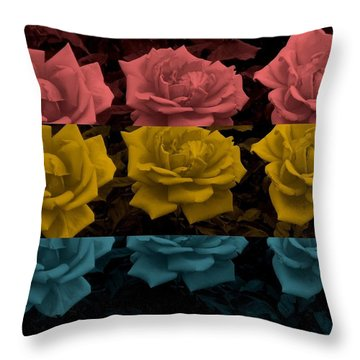 Song For The Siren Throw Pillow by Holley Jacobs