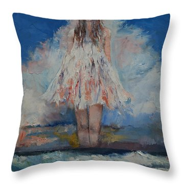 Song Of September Throw Pillow