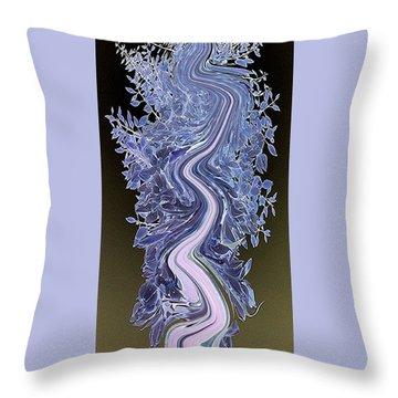 Song - Yucca Flower Throw Pillow by Ben and Raisa Gertsberg