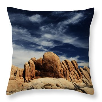 Songs Of Misery Throw Pillow