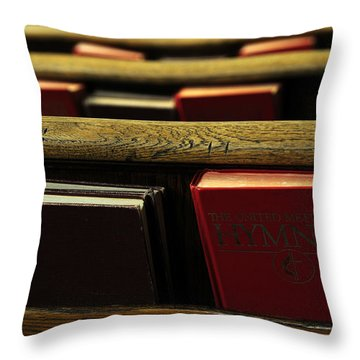 Songs Of Praise Throw Pillow
