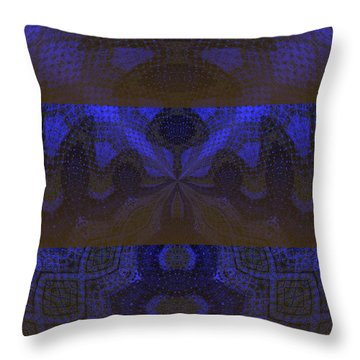 Sonic Temple Throw Pillow by Roz Abellera Art