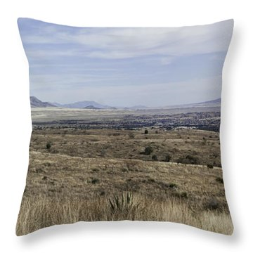 Sonoita Arizona Throw Pillow by Lynn Geoffroy