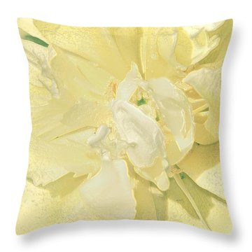 Soothing Daffodils Throw Pillow by Sonali Gangane