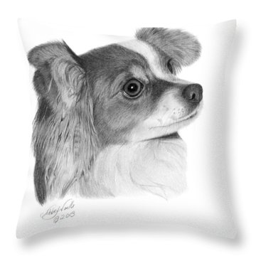 Sophie - 013 Throw Pillow by Abbey Noelle