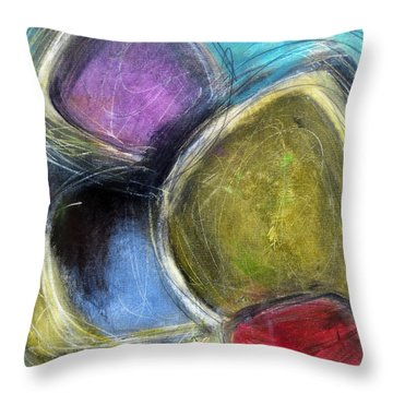 Sorcerer Throw Pillow by Katie Black