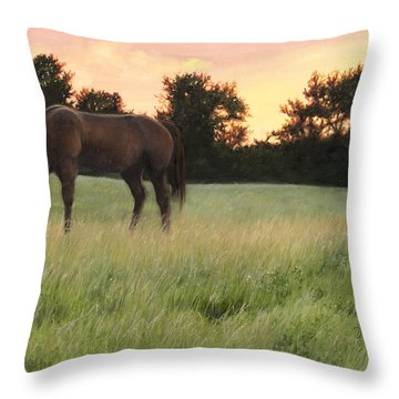 Sorrel Beauty Throw Pillow