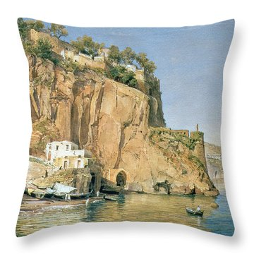 Sorrento Throw Pillow by Emanuel Stockler