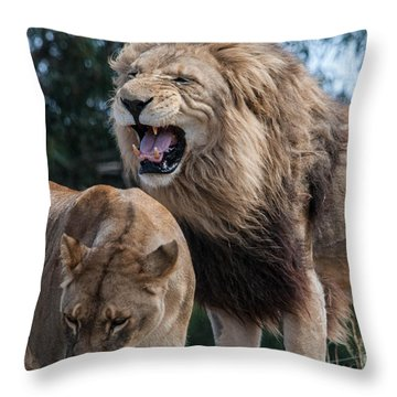 Sorry Your Majesty Throw Pillow
