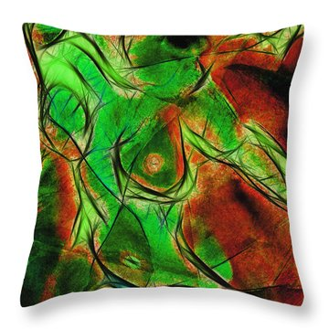 Souffrance Iv Throw Pillow