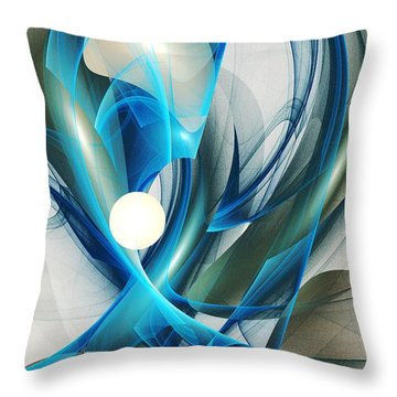 Soul Blueprint Throw Pillow by Anastasiya Malakhova