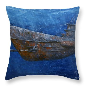 Soul Hunter Throw Pillow by Arturas Slapsys