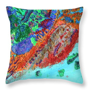 Soul Map I Throw Pillow