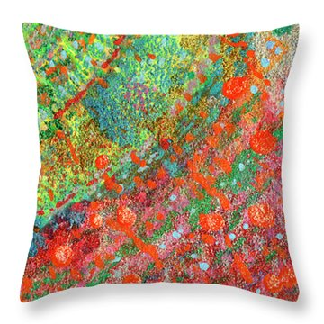 Soul Map II Throw Pillow